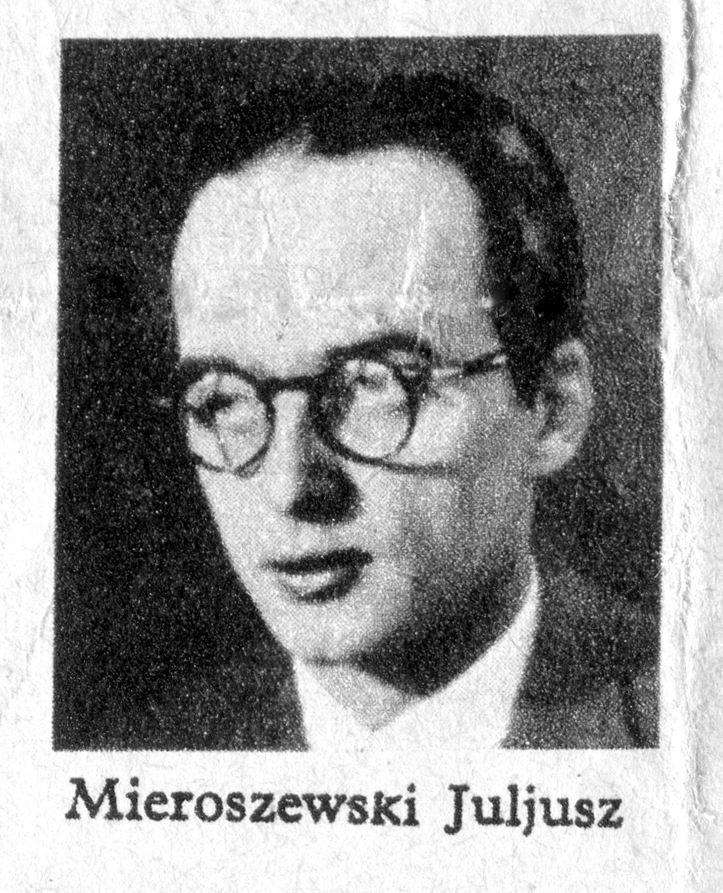 <div class='inner-box'><div class='close-desc'></div><span class='opis'>Fotografia Juliusza Mieroszewskiego zamieszczona w Ilustrowanym Kurierze Codziennym (I.K.C.) prawdopodobnie w numerze jubileuszowym pisma, w grudniu 1935 r.</span><div class='clearfix'></div><span>Sygn. sm00167</span><div class='clearfix'></div><span>© Instytut Literacki</span></div>