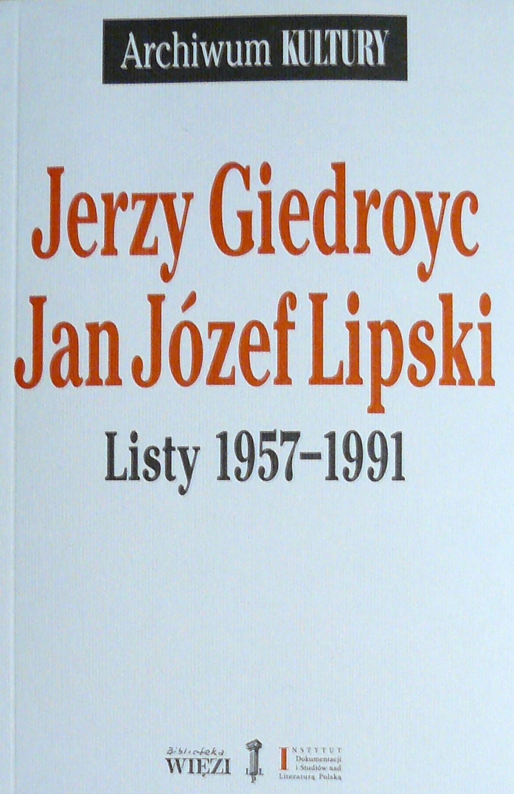 """<div class='inner-box'><div class='close-desc'></div>  <span class='opis'>Jerzy Giedroyc - Jan Józef Lipski. Listy 1957-1991. Wyd. """"Więź"""" Warszawa 2015.</span>   </div>"""
