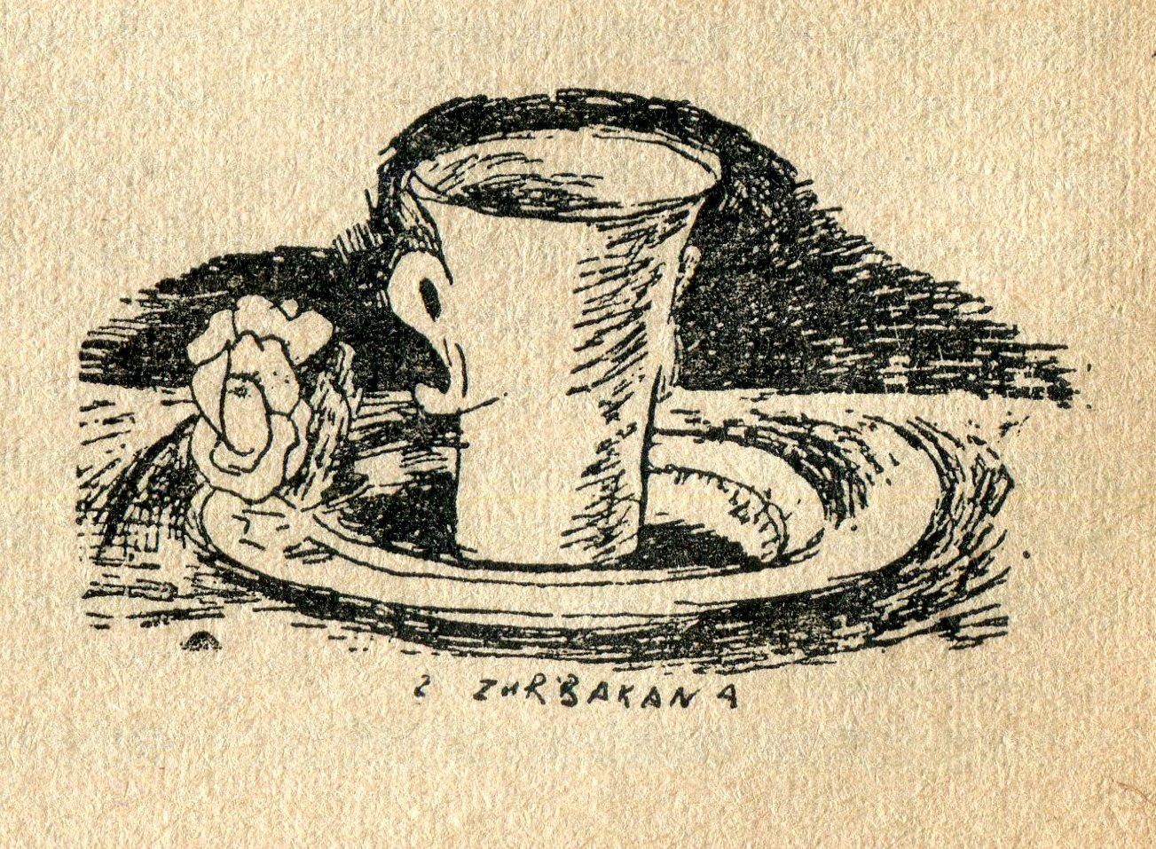 """<div class='inner-box'><div class='close-desc'></div><span class='opis'>Józef Czapski - rysunek """"Z Zurbarana"""", ilustrujący tekst J.Cz. pt. """"Rzeczy żywe i bez ruchu"""". """"Kultura"""" nr 10/72, 1953 r. s. 10.</span><div class='clearfix'></div><span>Sygn. sm00252</span><div class='clearfix'></div><span>© Instytut Literacki</span></div>"""