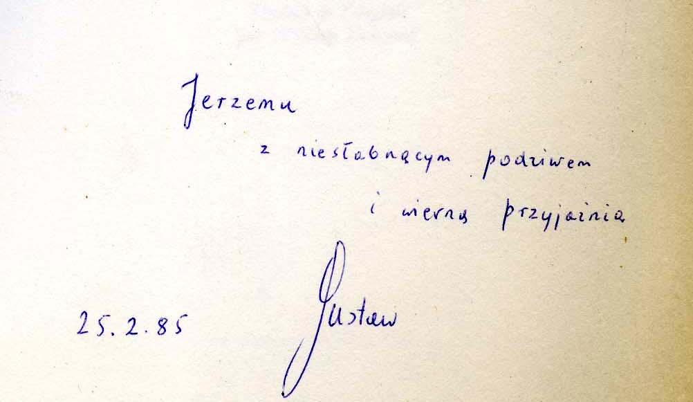 """<div class='inner-box'><div class='close-desc'></div><span class='opis'>Dedykacja Gustawa Herlinga-Grudzińskiego dla Jerzego Giedroycia. """"Inny świat"""" – francuskie wydanie, Denoël, 1985.</span><div class='clearfix'></div><span>Cote du document dedyk019b</span><div class='clearfix'></div><span>© Instytut Literacki</span></div>"""