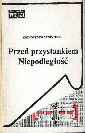 <div class='inner-box'><div class='close-desc'></div><span class='opis'><p>Krzysztof Kopczyński. <em>Przed przystankiem Niepodległość</em>, wyd. Więź 1990 r.</p></span><div class='clearfix'></div><span>Archive ref. sm00469</span><div class='clearfix'></div><span>© Instytut Literacki</span></div>