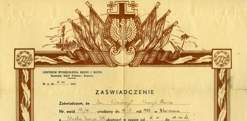 Dokumenty Henryka Giedroycia