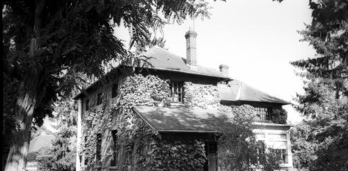 Józef Brodzki w Maisons-Laffitte (nie Brodski:)